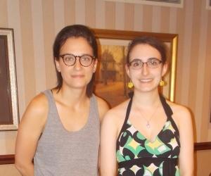La réalisatrice Chloé Robichaud et moi
