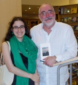 Le poète Claude Drouin et moi