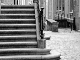 EscalierNoiretblanc