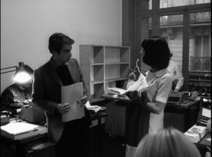 Jean-Pierre Léaud et Chantal Goya dans Masculin féminin