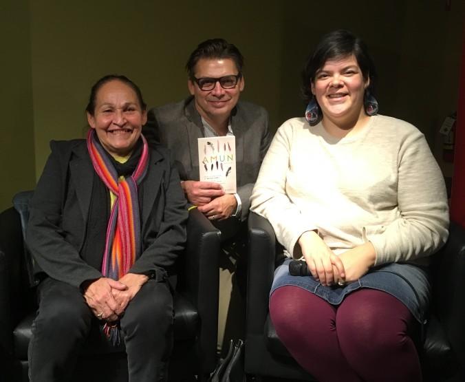 Joséphine Bacon, Michel Jean et Melissa Mollen Dupuis